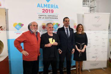 La Academia Andaluza de Gastronomía y Turismo nombra a Ferrán Adriá Primer Académico de Honor