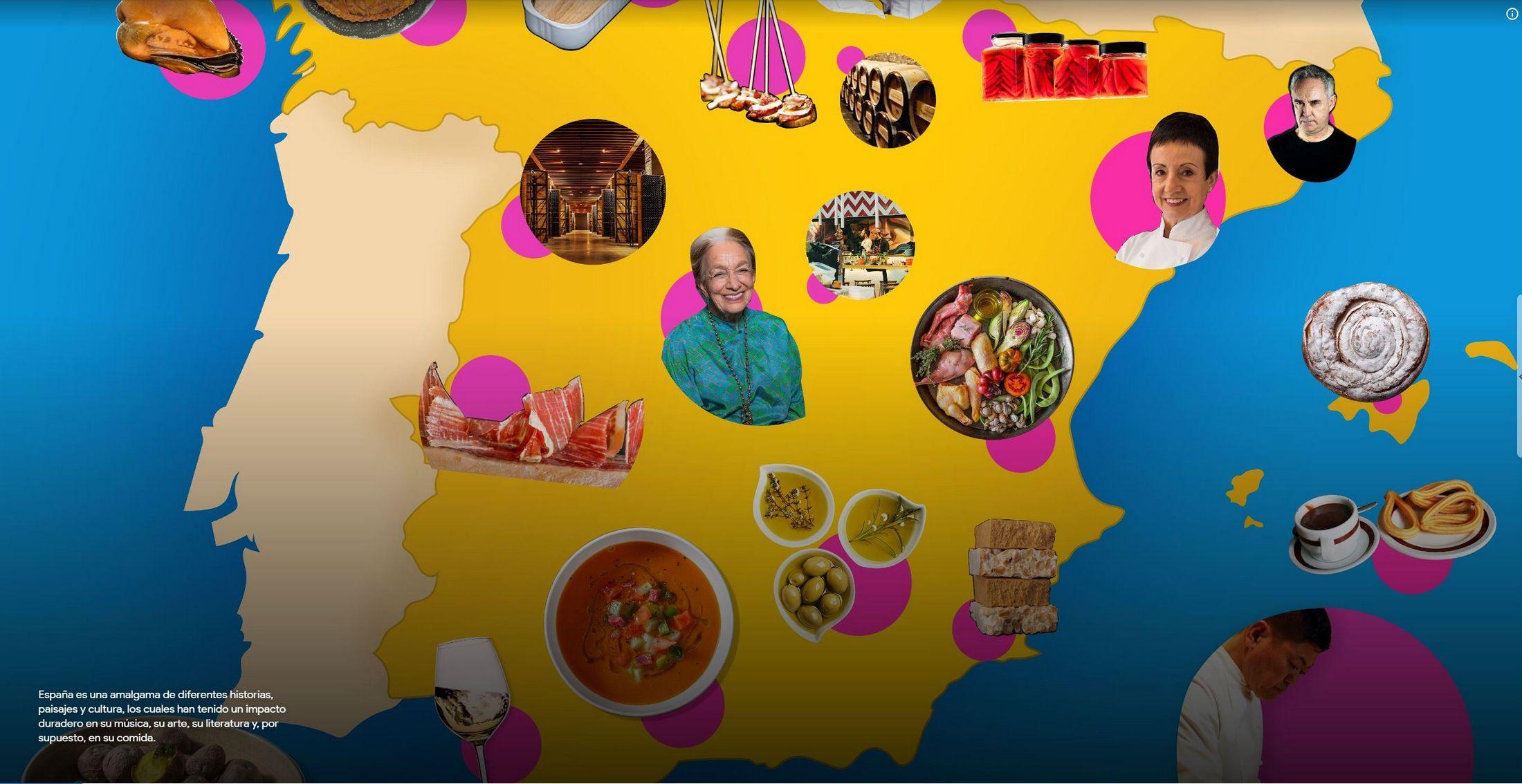 'España: cocina abierta'. / GOOGLE ARTS & CULTURE