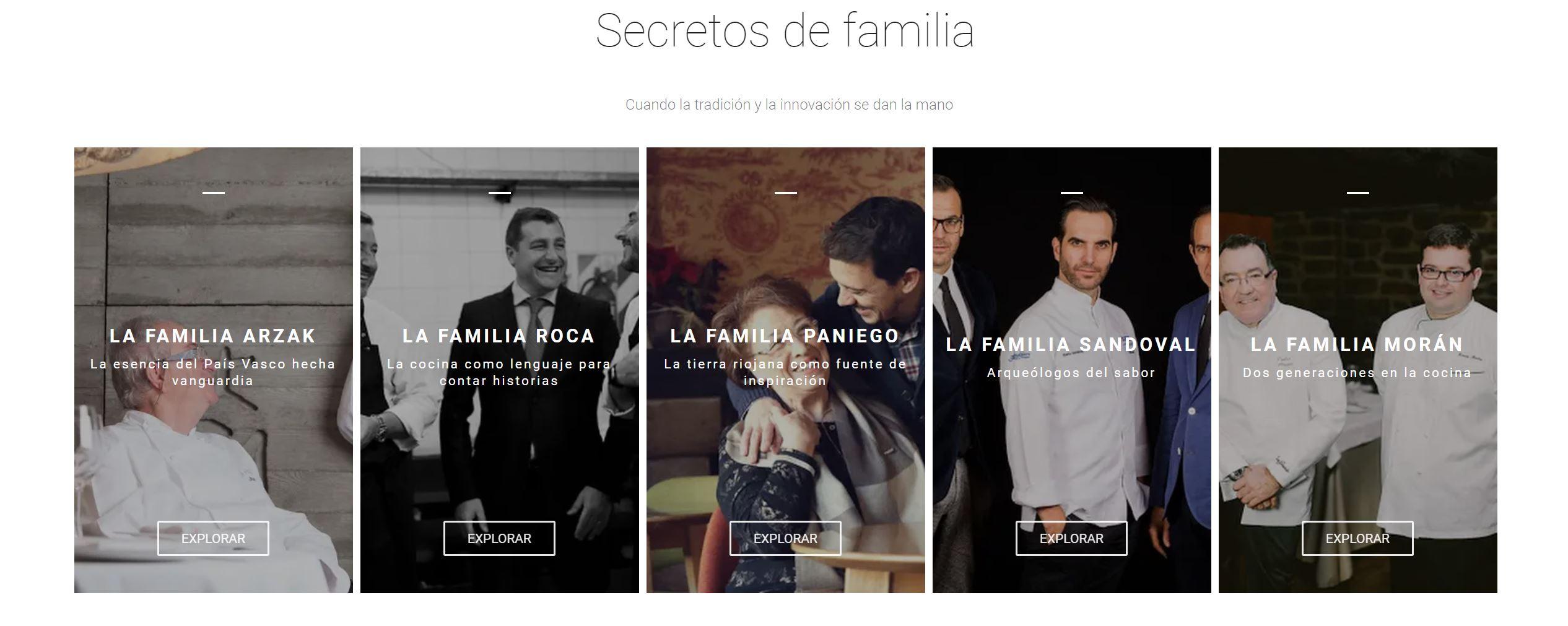 España - cocina abierta - Secretos de familia