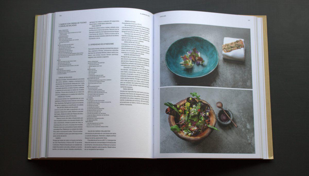 el jardin del chef - recetas