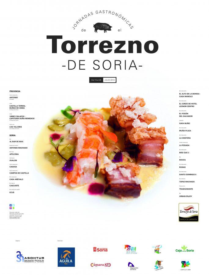 Cartel II Jornadas del Torrezno de Soria