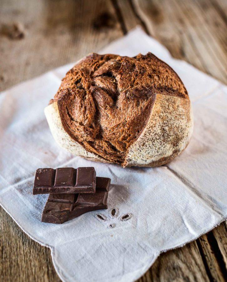pan de cacao - amasa