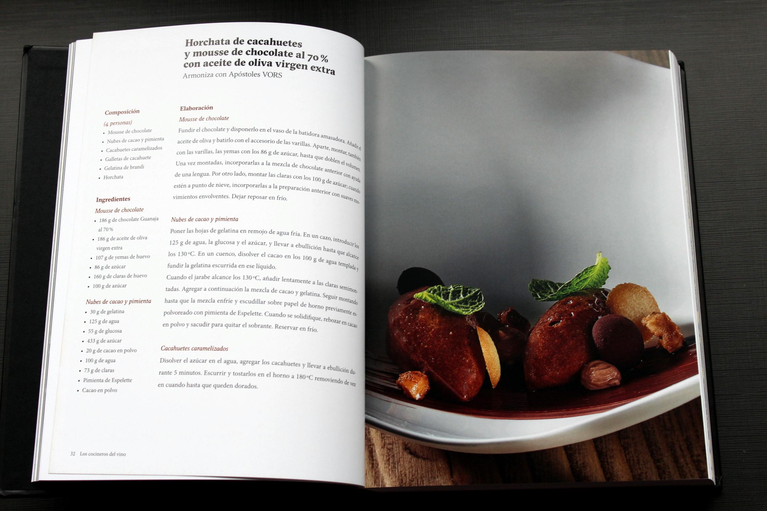 los cocineros del vino - recetas