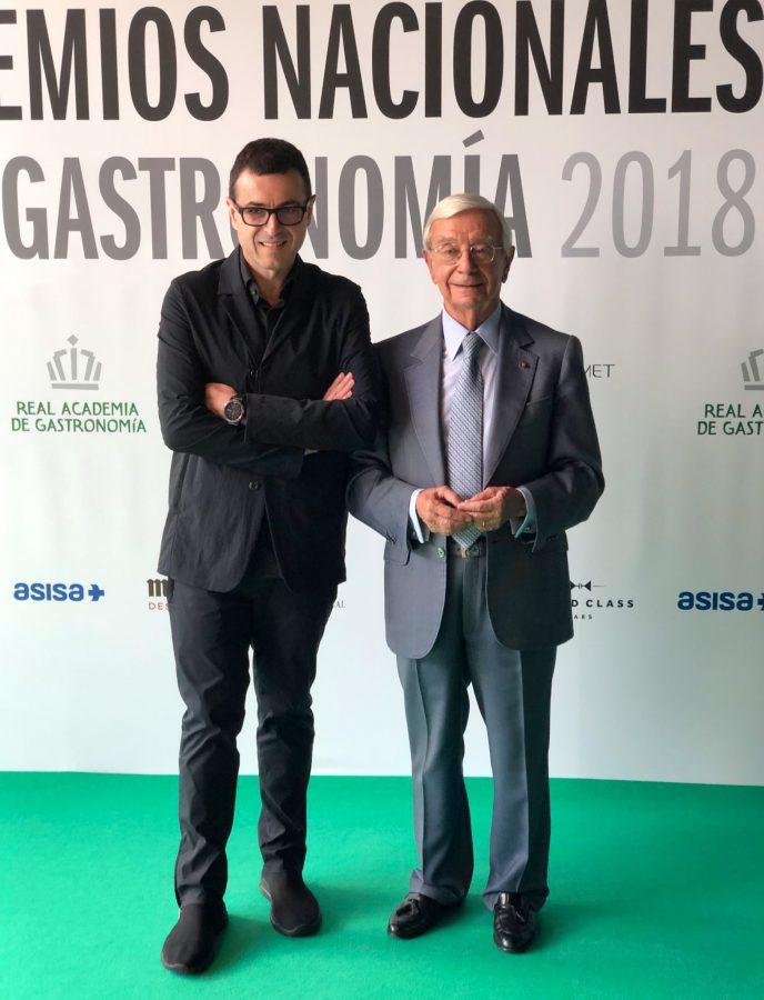 premios nacionales de gastronomia - ricard camarena
